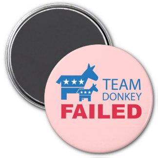 Team Donkey Failed Magnets