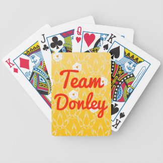 Team Donley Bicycle Playing Cards