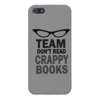 Team Don't Read Crappy Books Iphone case