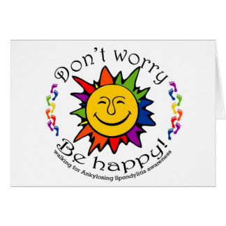 Team Don't Worry, Be Happy Card