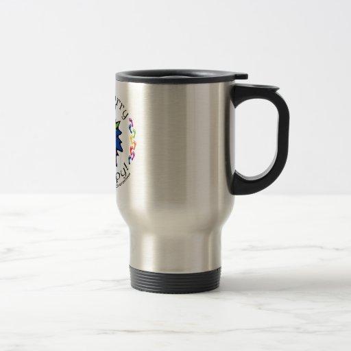 Team Don't Worry, Be Happy Coffee Mug