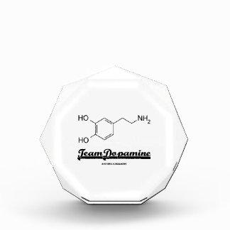 Team Dopamine (Dopamine Chemical Molecule) Acrylic Award