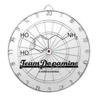 Team Dopamine (Dopamine Chemical Molecule) Dartboards