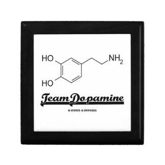 Team Dopamine (Dopamine Chemical Molecule) Trinket Boxes