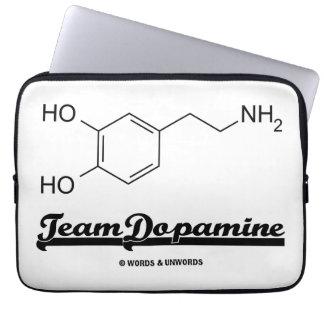 Team Dopamine (Dopamine Chemical Molecule) Laptop Computer Sleeve