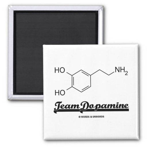 Team Dopamine (Dopamine Chemical Molecule) Magnet