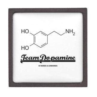 Team Dopamine (Dopamine Chemical Molecule) Premium Trinket Box