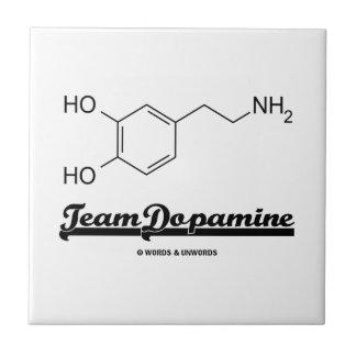 Team Dopamine (Dopamine Chemical Molecule) Ceramic Tile