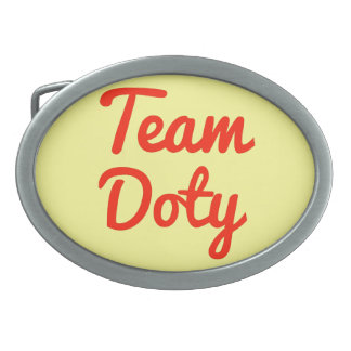 Team Doty Belt Buckle