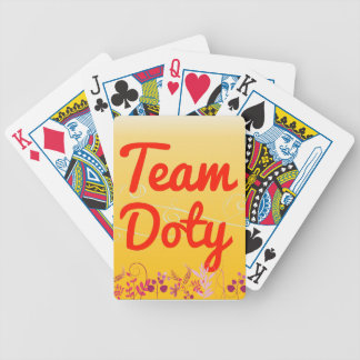 Team Doty Bicycle Playing Cards