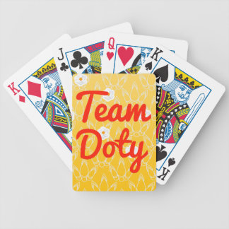 Team Doty Bicycle Poker Deck