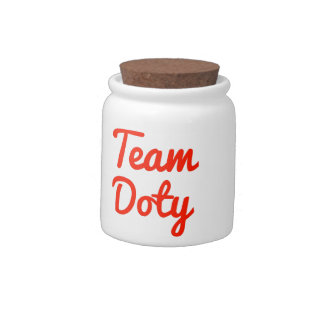 Team Doty Candy Dishes