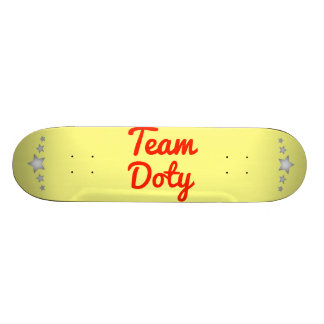 Team Doty Custom Skate Board