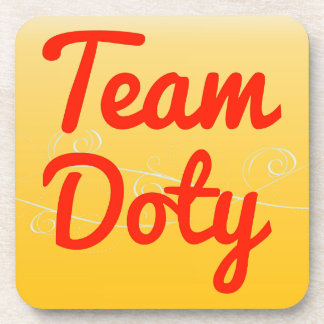 Team Doty Drink Coasters