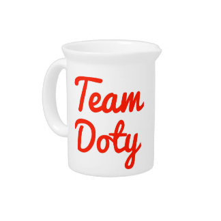 Team Doty Drink Pitcher