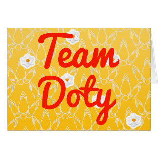 Team Doty Greeting Cards