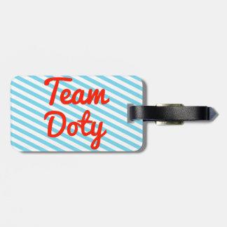 Team Doty Bag Tags