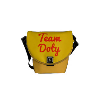 Team Doty Messenger Bags