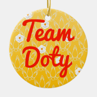 Team Doty Ornament