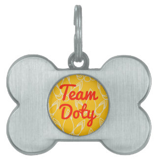 Team Doty Pet Name Tag