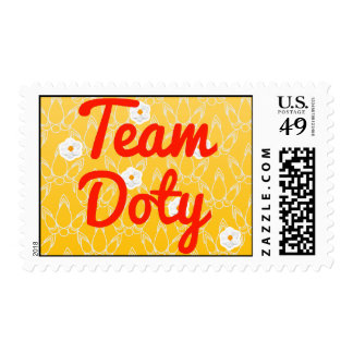 Team Doty Postage Stamp