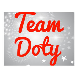 Team Doty Postcards