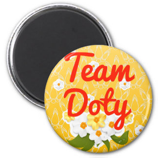 Team Doty Refrigerator Magnets