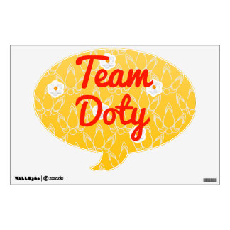 Team Doty Room Decals