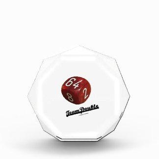 Team Double (Backgammon Doubling Cube) Award