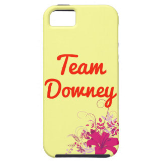 Team Downey iPhone 5 Covers