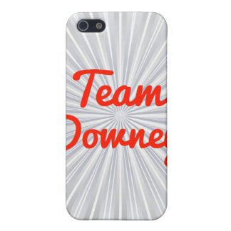 Team Downey iPhone 5 Case