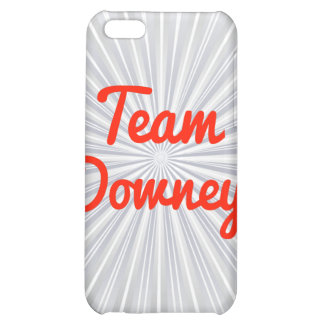 Team Downey iPhone 5C Cover
