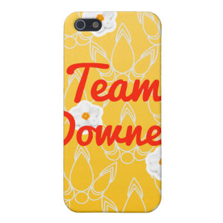 Team Downey Case For iPhone 5