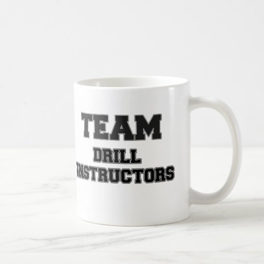 Team Drill Instructors Coffee Mug
