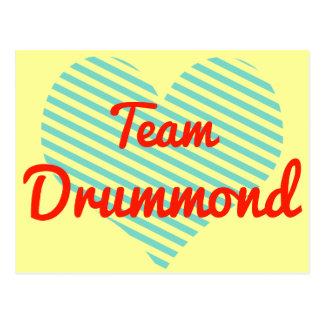 Team Drummond Post Cards