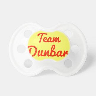 Team Dunbar Baby Pacifier