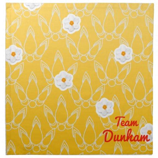Team Dunham Cloth Napkins