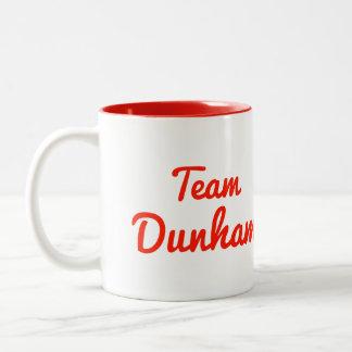 Team Dunham Two-Tone Coffee Mug
