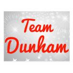 Team Dunham Post Card