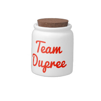 Team Dupree Candy Dishes
