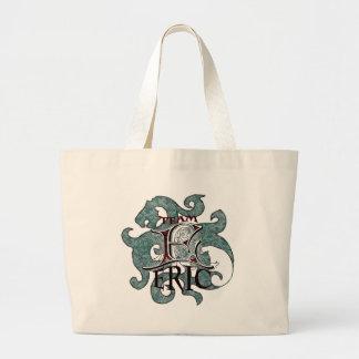 Team E Large Tote Bag