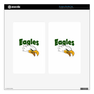TEAM EAGLES DECAL FOR KINDLE FIRE
