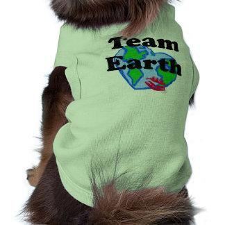 TEAM EARTH DOG TANK TOP PET TEE SHIRT