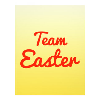 Team Easter Flyer Design
