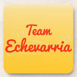 Team Echevarria Beverage Coaster