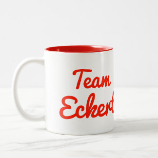 Team Eckert Two-Tone Coffee Mug