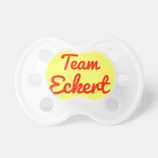 Team Eckert Pacifiers