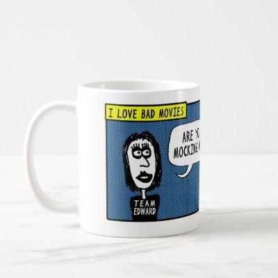Team Ed Wood (Comic Mug)