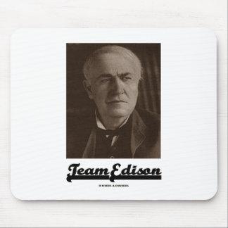 Team Edison (Thomas Alva Edison) Mousepads