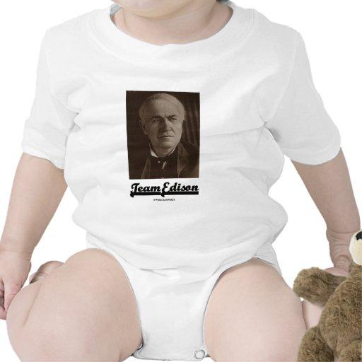 Team Edison (Thomas Alva Edison) T Shirts